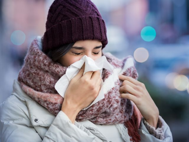 How seasonal illnesses affect your oral health